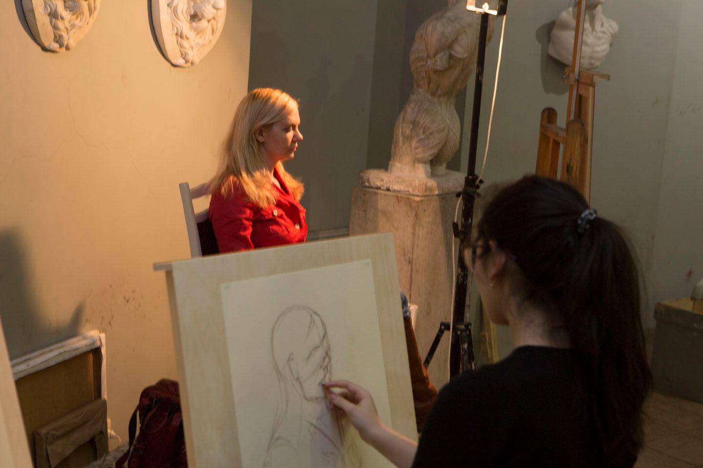 Мастер-класс «Короткий рисунок головы» в Академии Ильи Глазунова – события на сайте «Московские Сезоны»