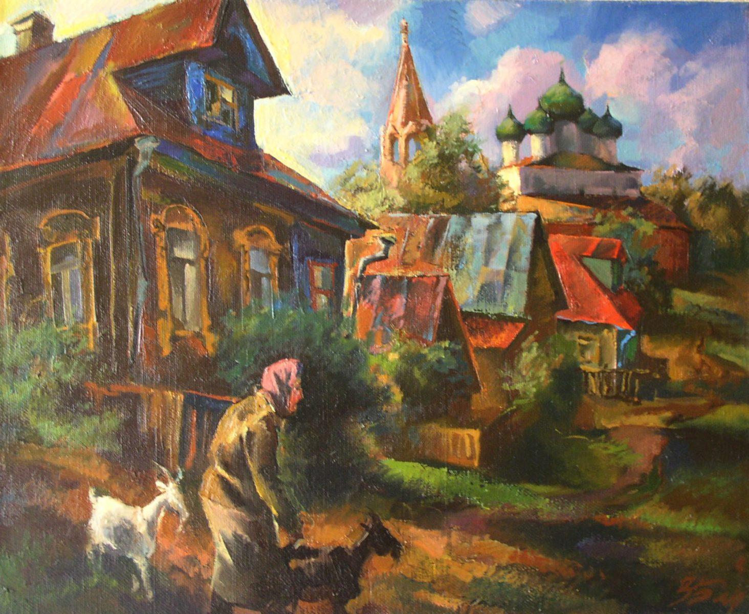 Выставка «Путешествие в провинцию» в Коломенском – события на сайте «Московские Сезоны»