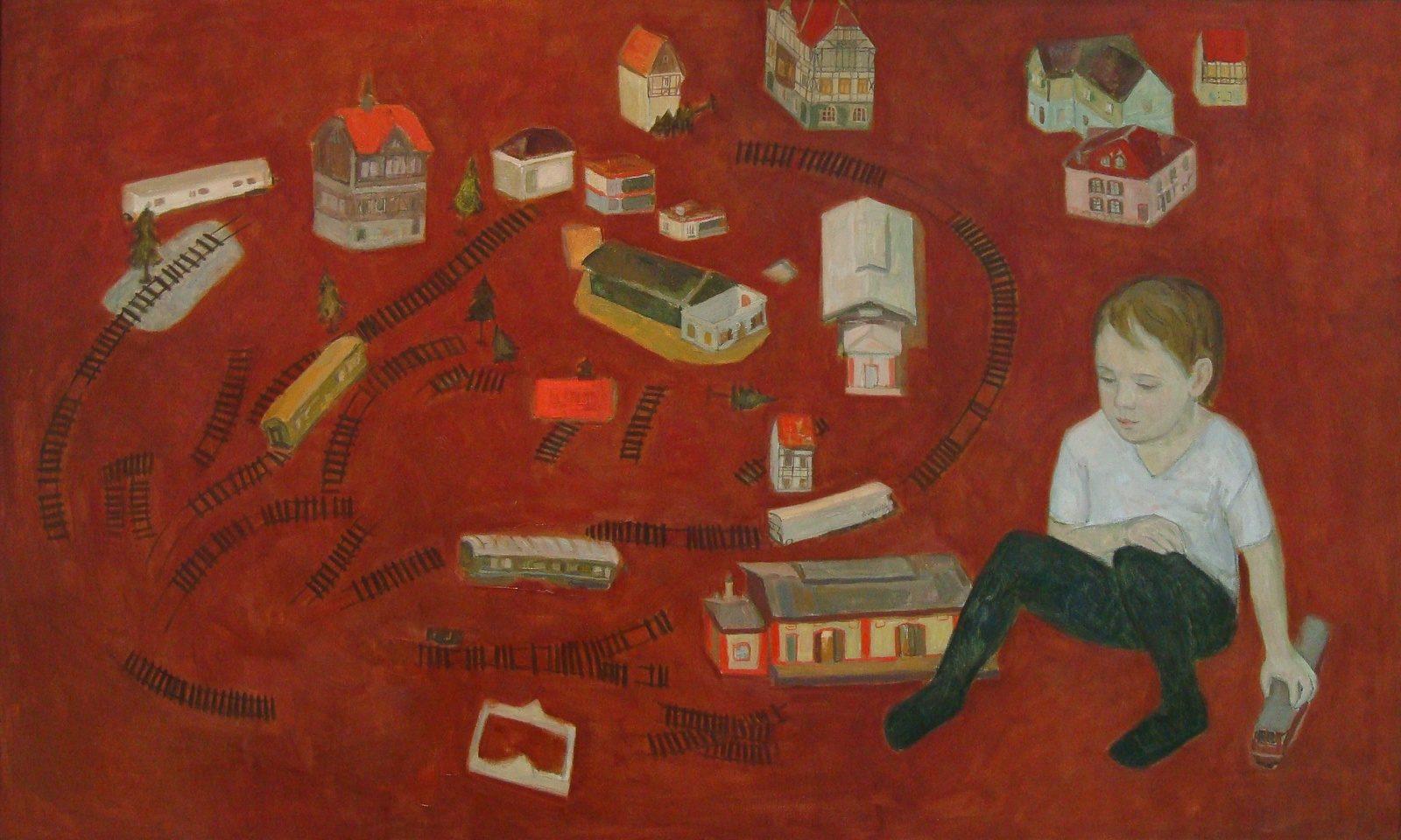 Выставка «Детская площадка» в галерее «На Каширке» – события на сайте «Московские Сезоны»
