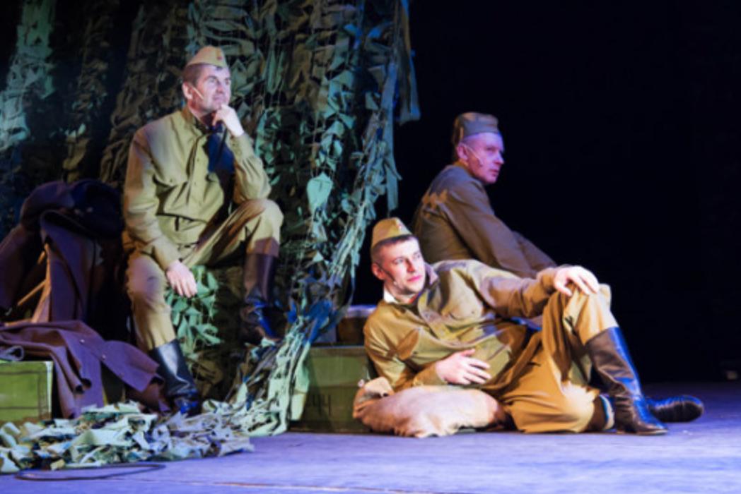 Спектакль «Василий Тёркин» в Театре Юного зрителя – события на сайте «Московские Сезоны»