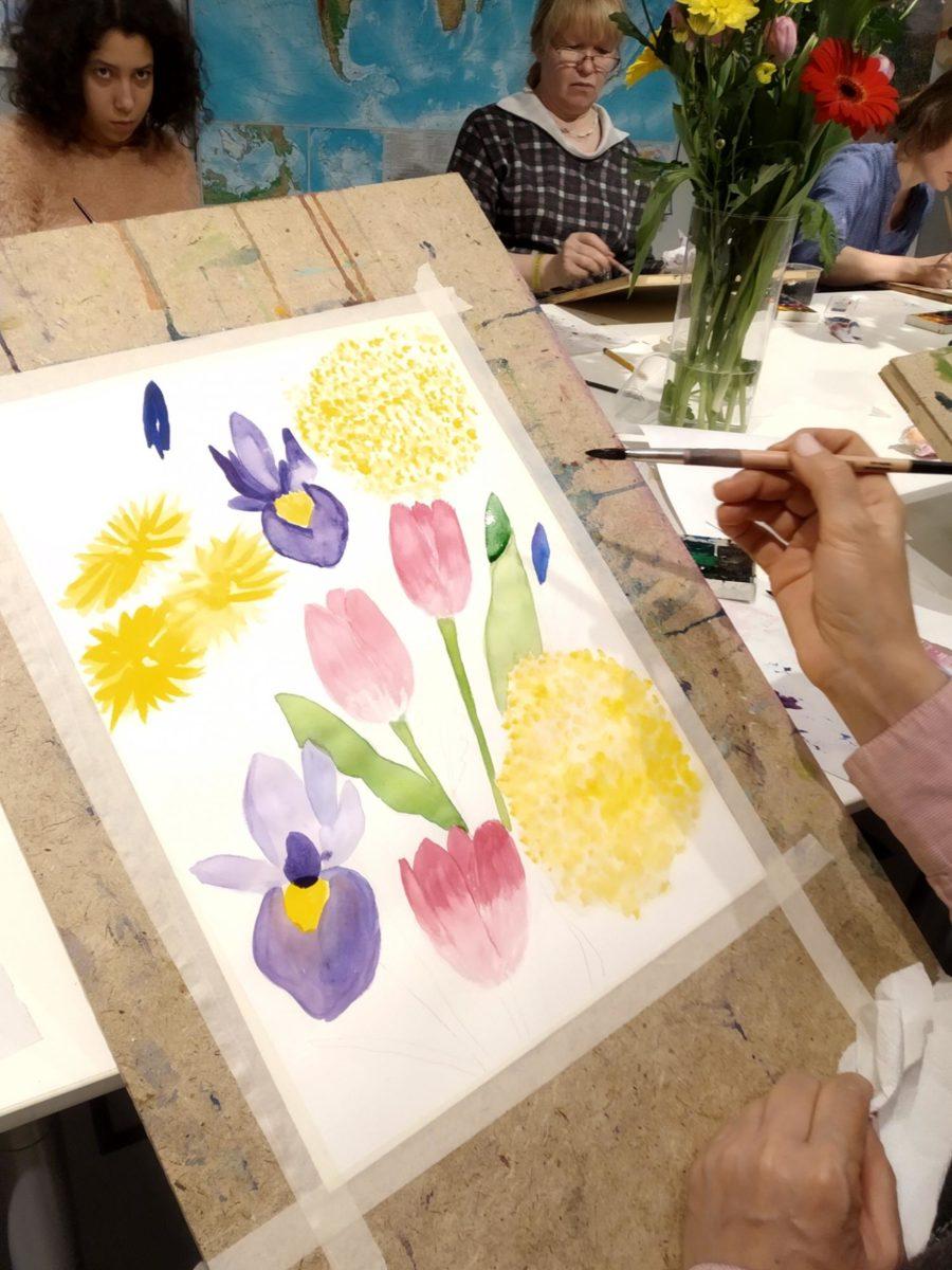 Мастер-класс «Полевые цветы. Акварель» в Музее русского импрессионизма – события на сайте «Московские Сезоны»