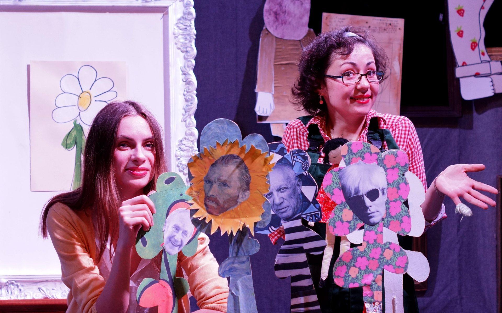 Интерактивный спектакль «Как стать художником?» в Музее русского импрессионизма – события на сайте «Московские Сезоны»