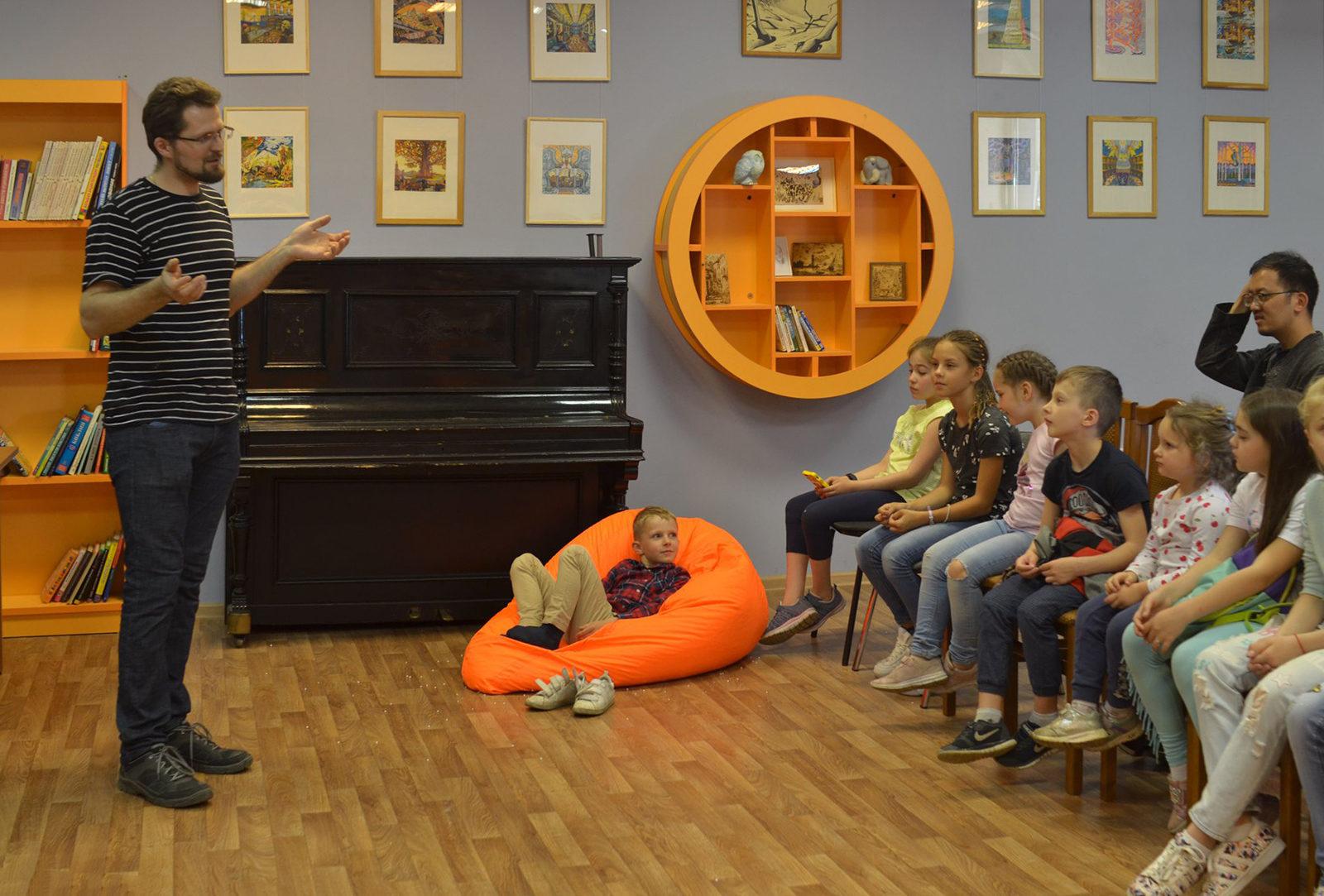 «Я — кинозвезда» в детской библиотеке № 226 – события на сайте «Московские Сезоны»