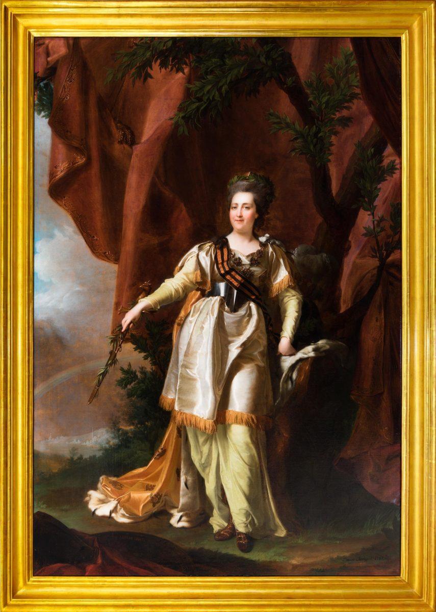 Выставка одной картины «Портрет Екатерины Великой с георгиевской лентой» в музее-заповеднике «Царицыно» – события на сайте «Московские Сезоны»