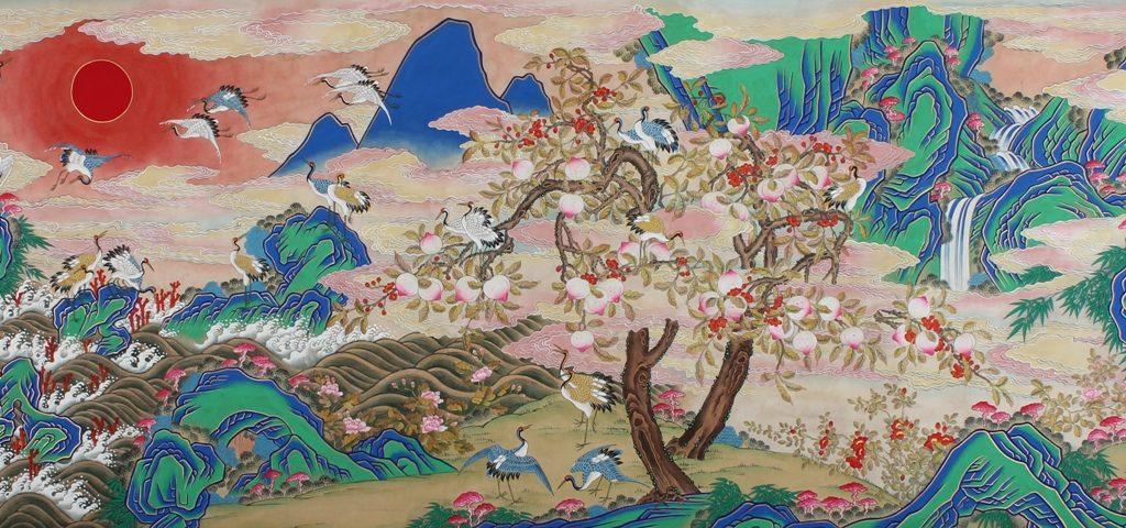 Выставка «Живопись минхва. Утопия корейского народа» в Галерее искусств Зураба Церетели – события на сайте «Московские Сезоны»