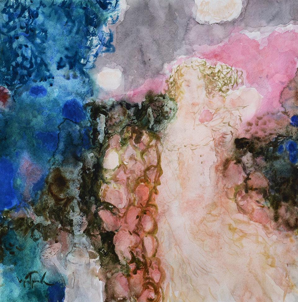 Выставка «Сад акварелей Ирины Григорьевой» в Антикварном центре на Садовом – события на сайте «Московские Сезоны»