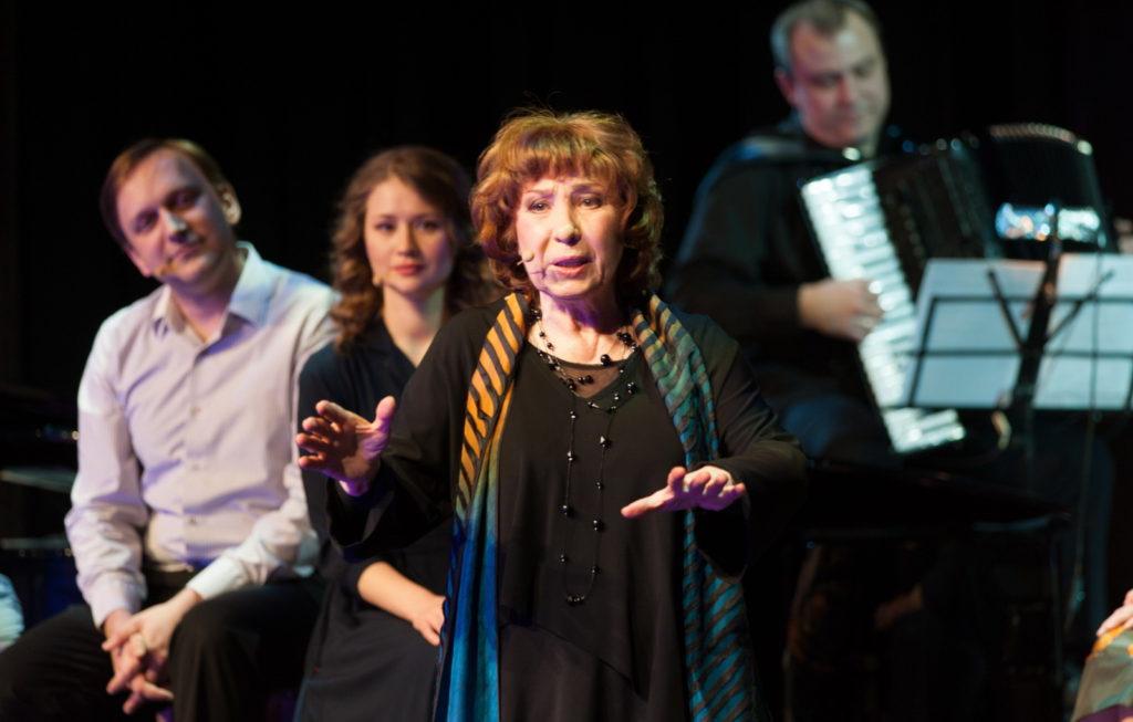 Концерт «Нелепо, смешно, безрассудно» в Театре музыки и поэзии под руководством Камбуровой – события на сайте «Московские Сезоны»