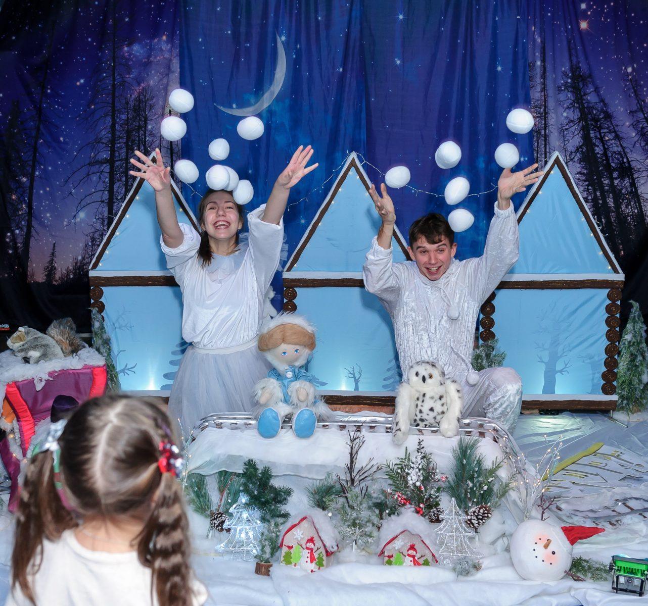Интерактивный спектакль «Сказка о снежной Метельке» в Интерактивном бэби театре – события на сайте «Московские Сезоны»