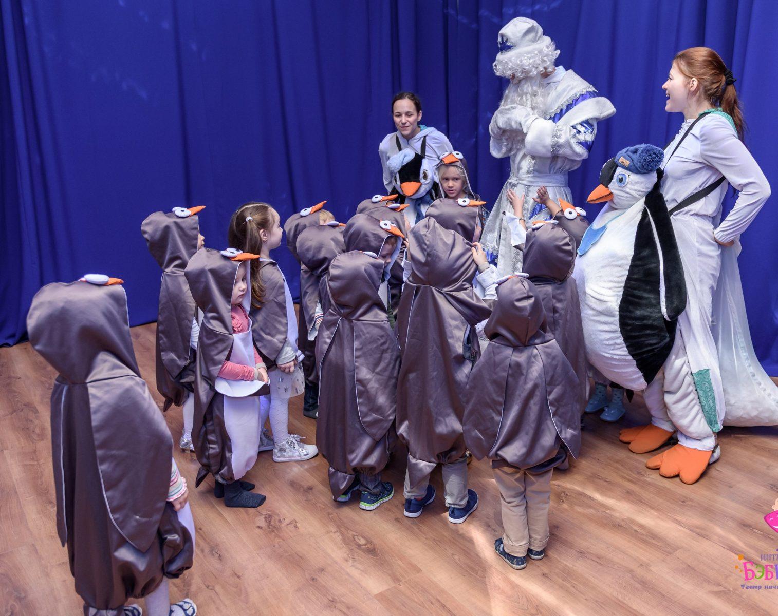 Интерактивный спектакль «Антарктида Snow Show» в Театральном музее им. Бахрушина – события на сайте «Московские Сезоны»