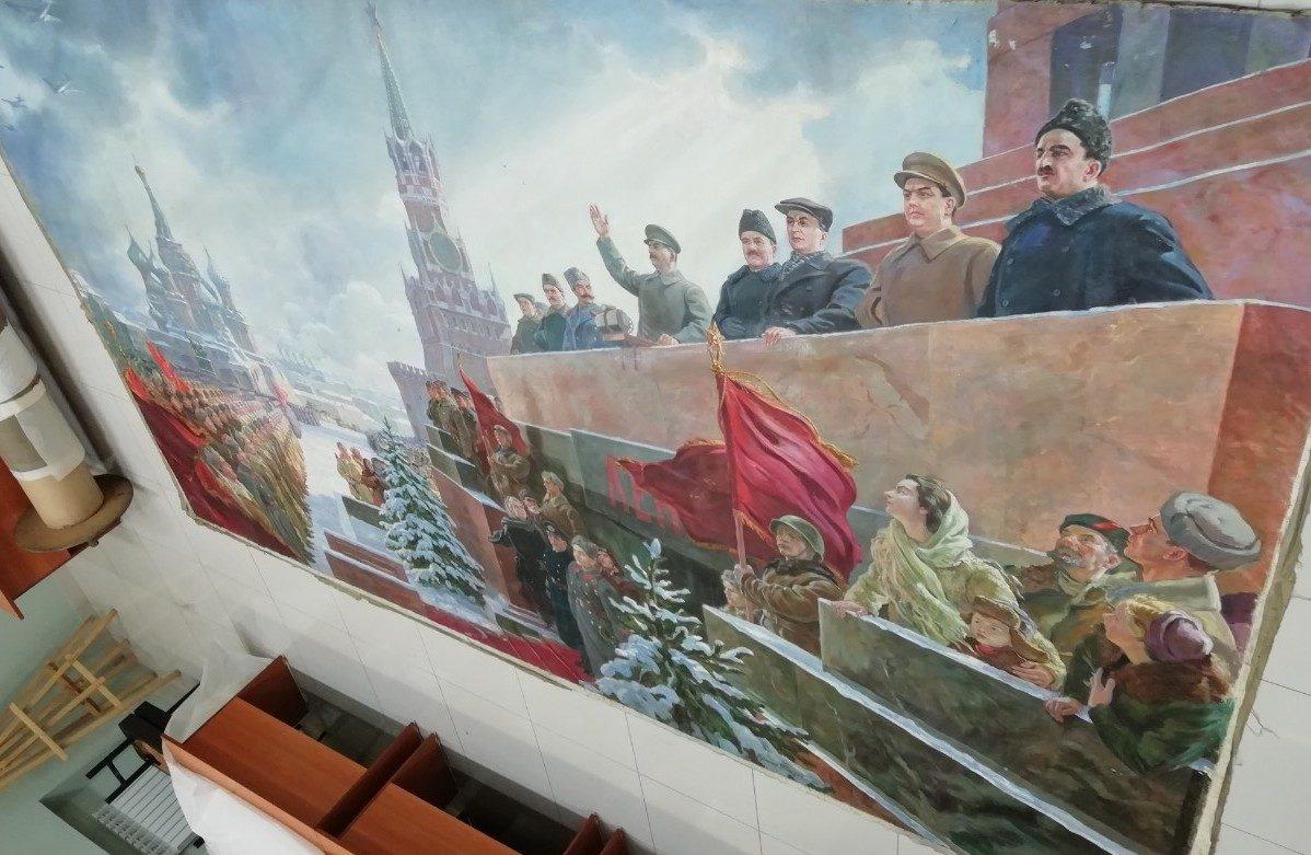 Выставка картины «Выступление Сталина на Красной площади 7 ноября 1941 г.» в Музее Победы – события на сайте «Московские Сезоны»