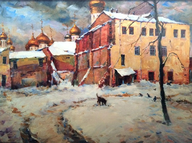 Выставка «Москва уходящая» в клубе «Крылатское» – события на сайте «Московские Сезоны»