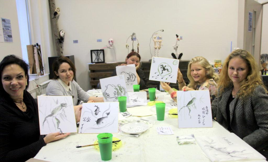 Мастер-классы по японской живописи суми-э – события на сайте «Московские Сезоны»