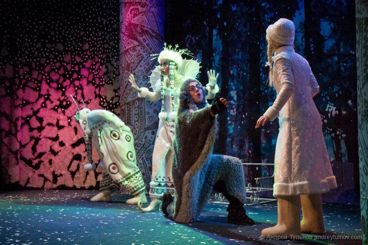 Сказка «Снежная принцесса» в КЦ имени И.М. Астахова – события на сайте «Московские Сезоны»