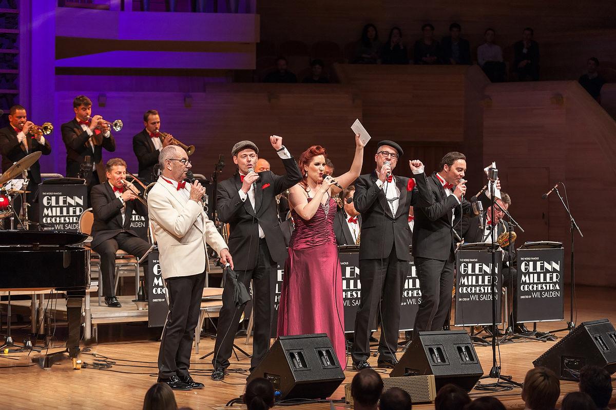 Концерт оркестра Гленна Миллера в Доме музыки – события на сайте «Московские Сезоны»