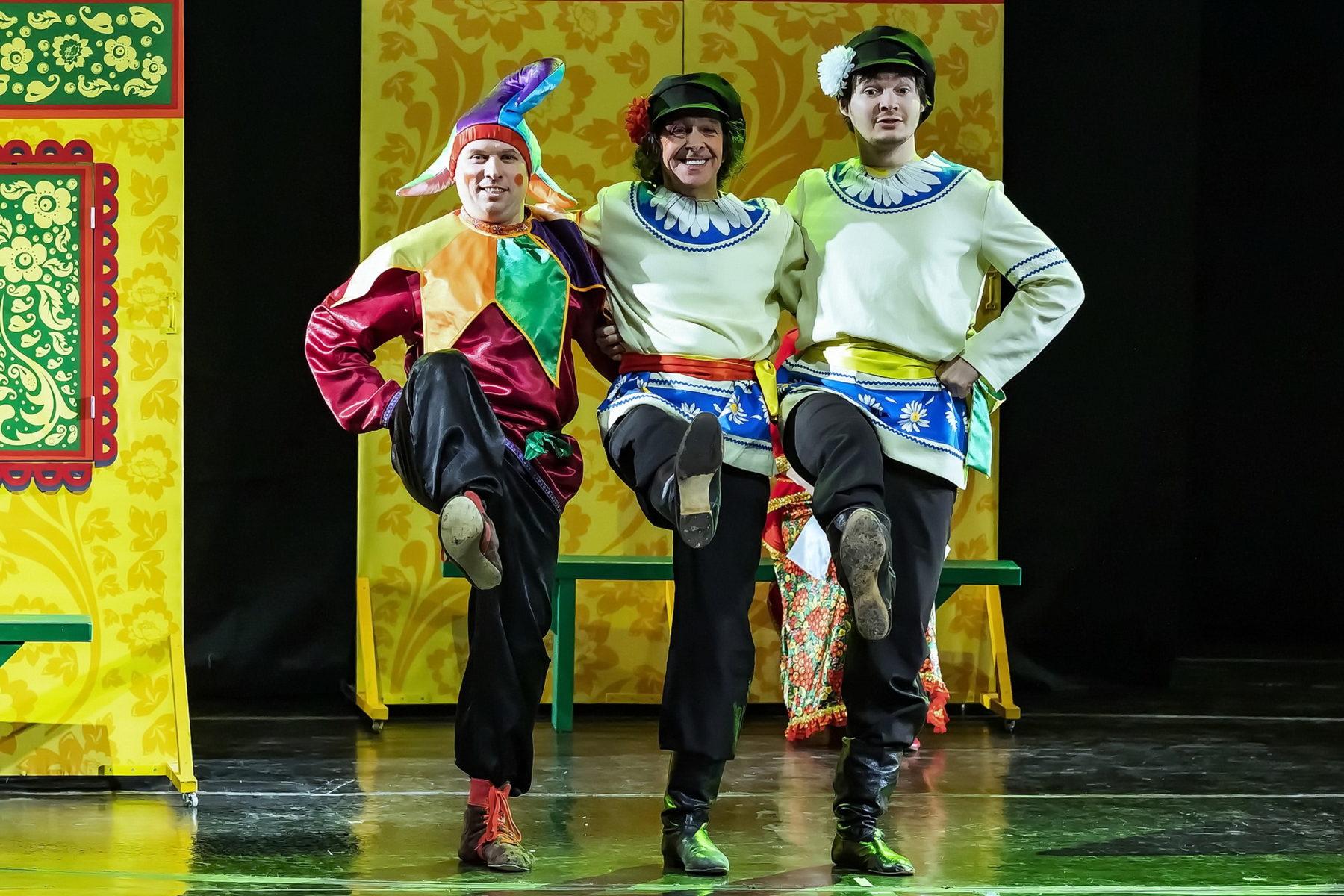 Спектакль «Аленький цветочек» в театре Мимики и Жеста – события на сайте «Московские Сезоны»