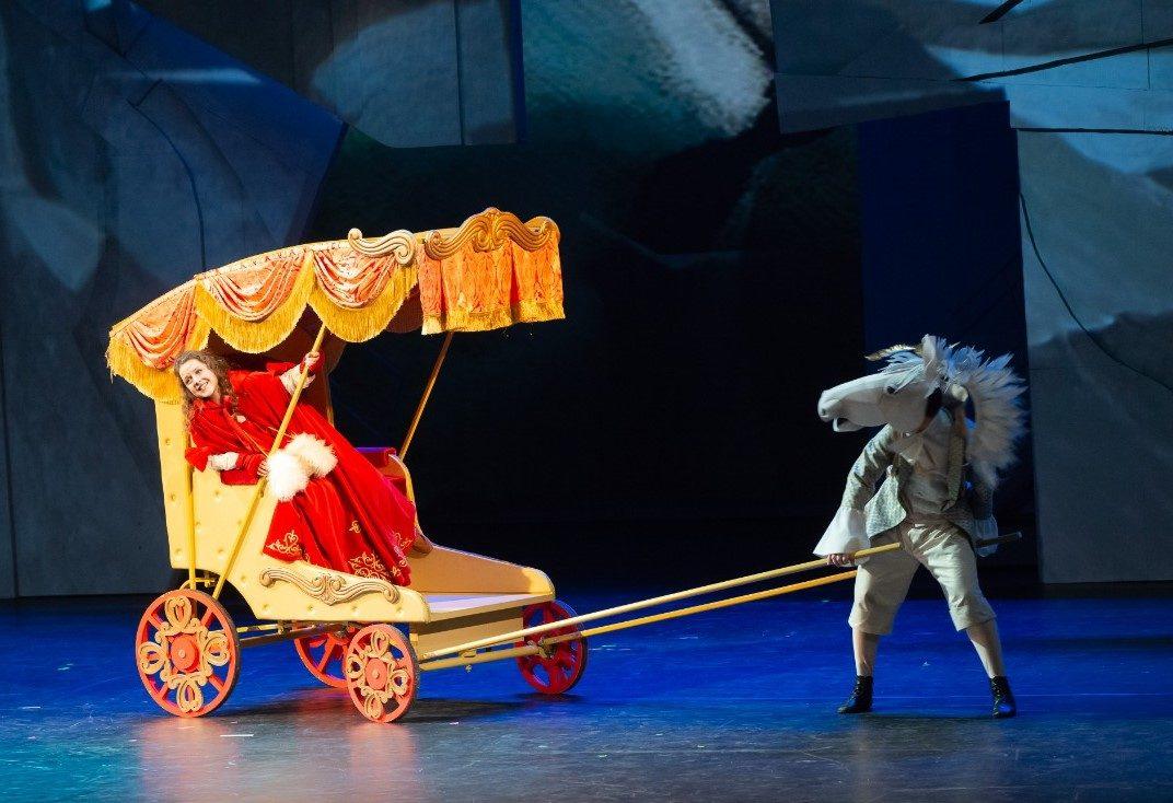 Спектакль «Снежная королева» в МХАТ имени М. Горького – события на сайте «Московские Сезоны»
