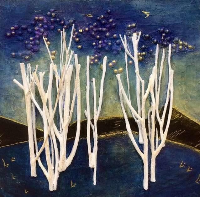 Вернисаж «Путешествие в страну цветов» в клубе-галерее «Крылатский Орнамент» – события на сайте «Московские Сезоны»