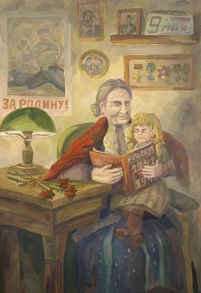 Виртуальная выставка «Победа глазами детей» – события на сайте «Московские Сезоны»