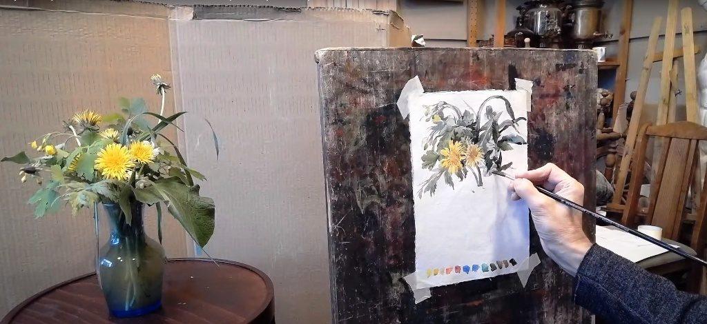 Виртуальный мастер-класс «Весенние цветы» – события на сайте «Московские Сезоны»