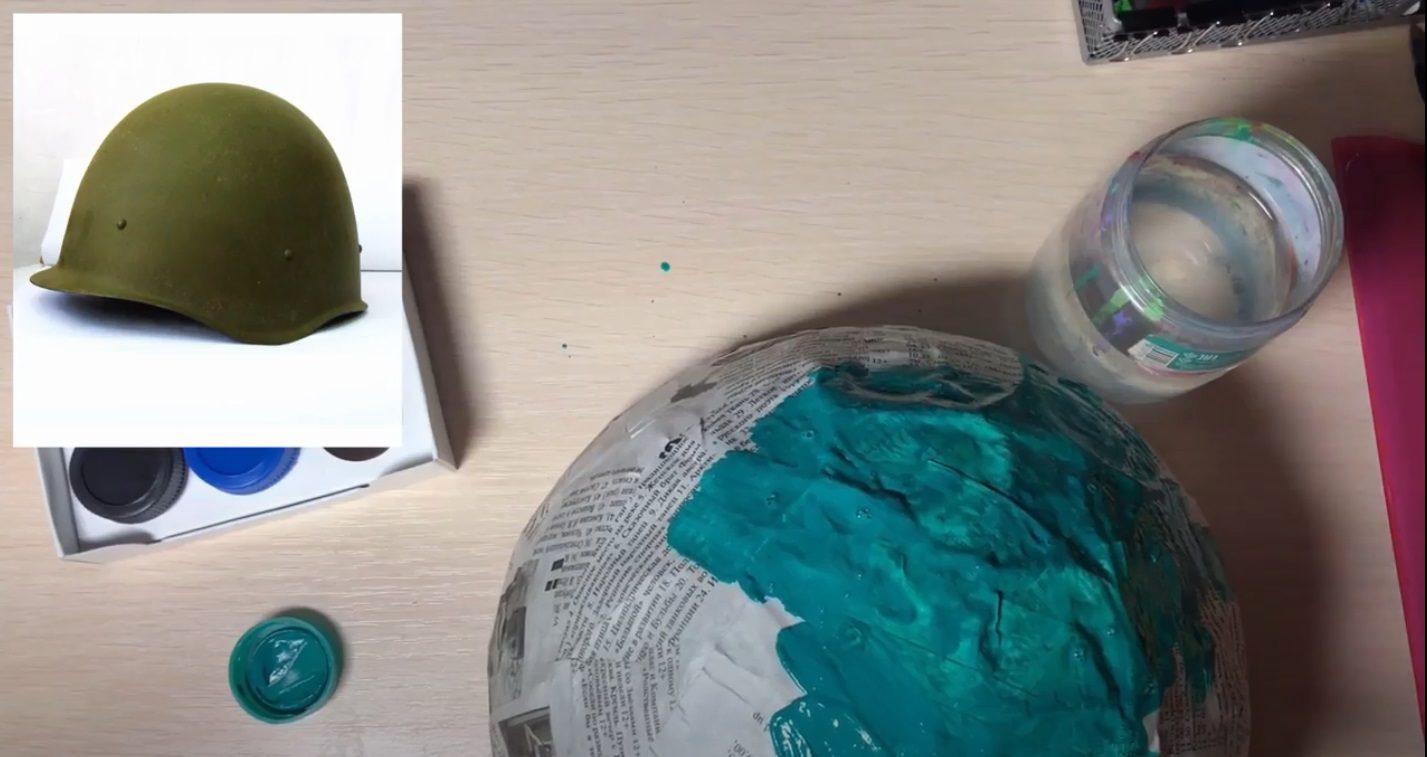 Онлайн-мастер-класс «Солдатский шлем» – события на сайте «Московские Сезоны»