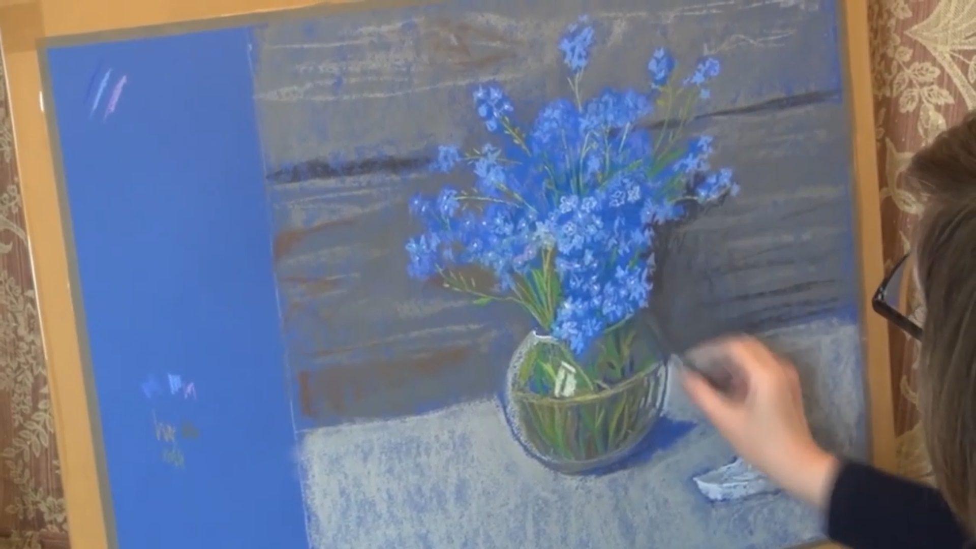 Онлайн-мастер-класс «Весенние цветы» – события на сайте «Московские Сезоны»