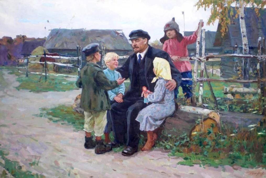 Виртуальная выставка «Я Ленина видел» – события на сайте «Московские Сезоны»