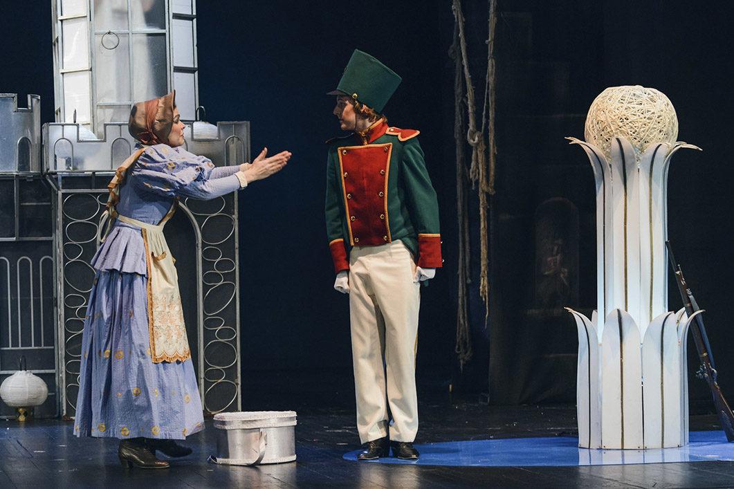 Спектакль «Стойкий оловянный солдатик» в Новом драматическом театре – события на сайте «Московские Сезоны»