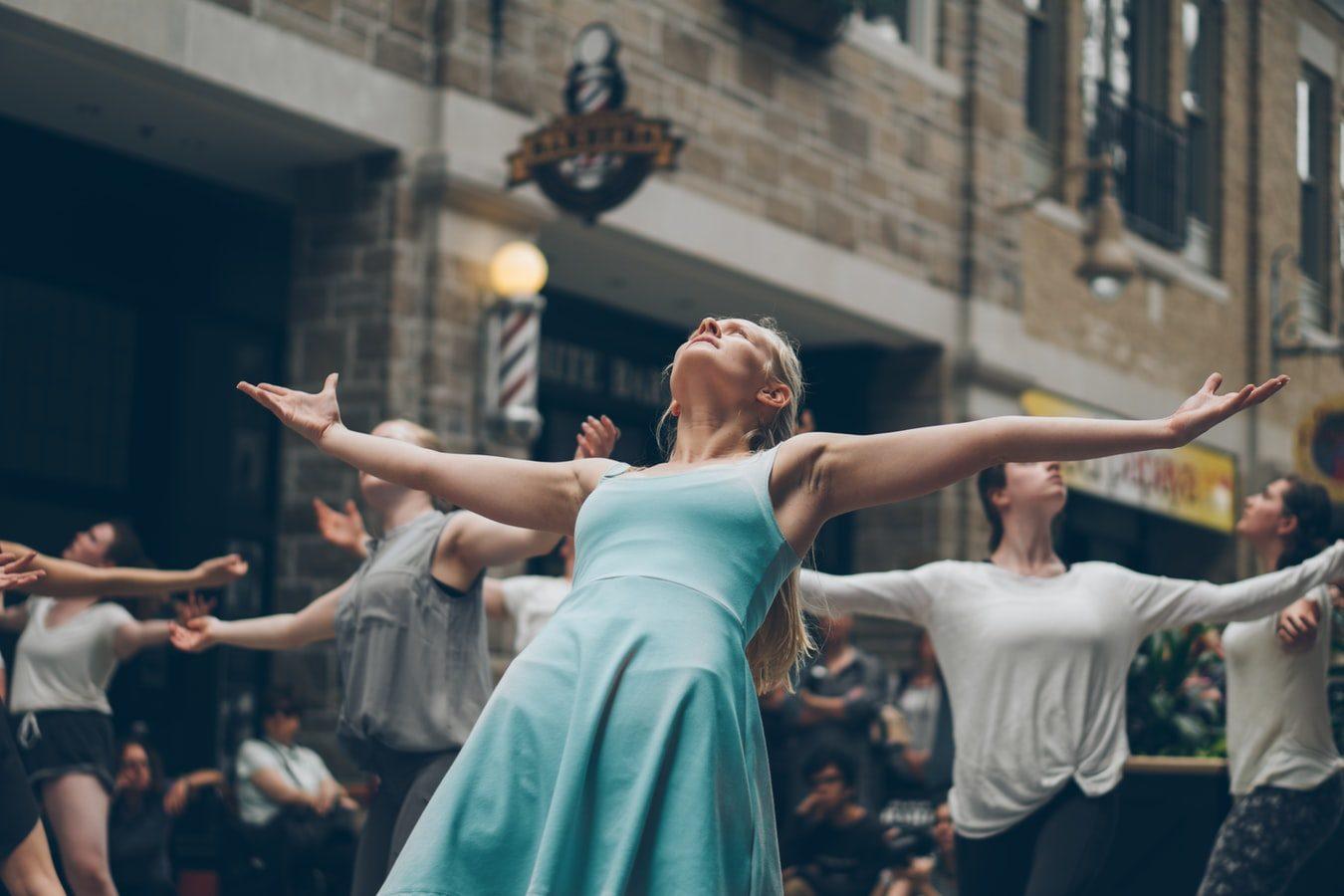 Хореографический перформанс «Танец с городом» в Библиотеке-читальне им. Пушкина – события на сайте «Московские Сезоны»