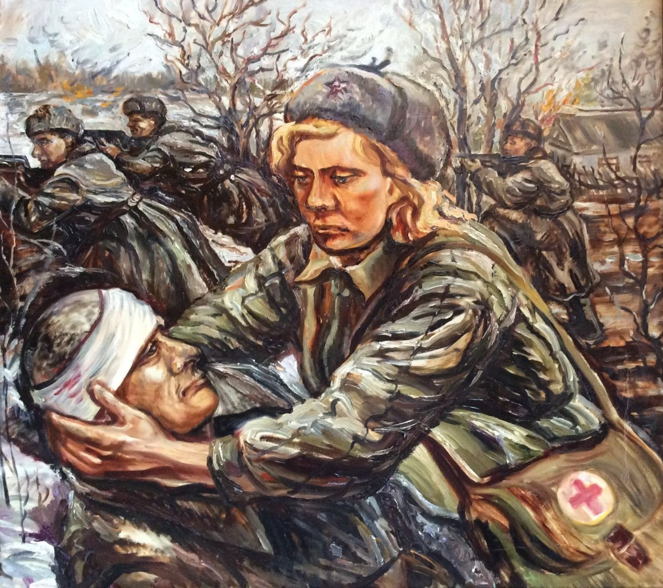 Выставка «Такая разная великая война» в Московском доме национальностей – события на сайте «Московские Сезоны»