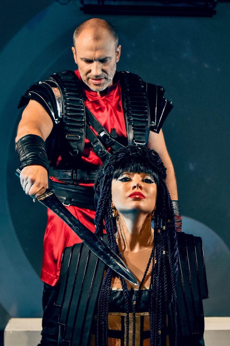 Спектакль «Антоний и Клеопатра 3013» в Театре Людмилы Рюминой – события на сайте «Московские Сезоны»