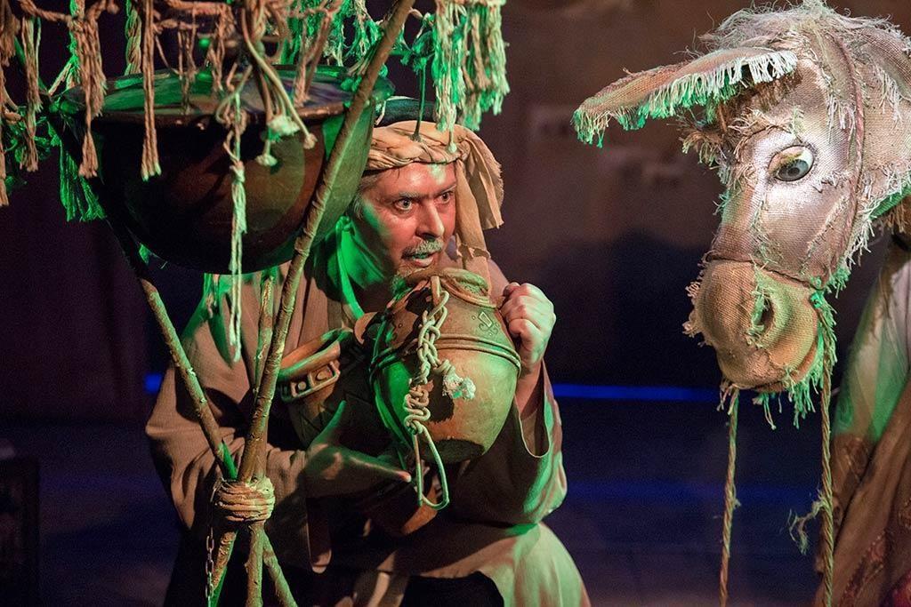 Спектакль «Али-Баба и сорок разбойников» в театре кукол им. С.В. Образцова  – события на сайте «Московские Сезоны»