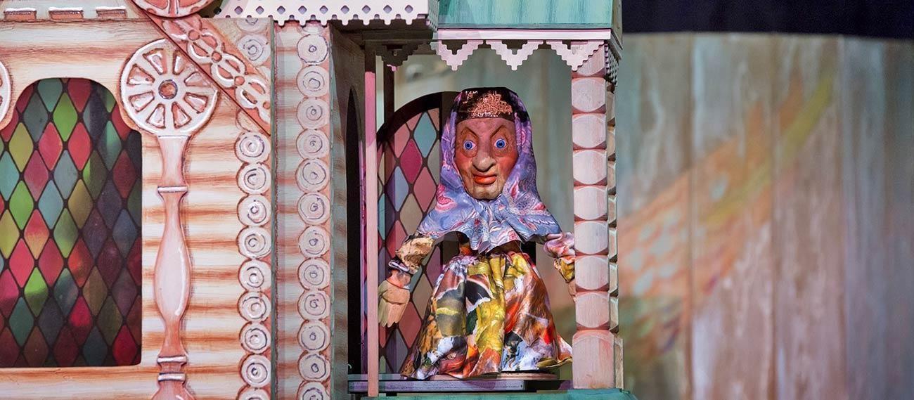 Спектакль «Сказка о рыбаке и рыбке» в театре кукол им. С.В. Образцова – события на сайте «Московские Сезоны»