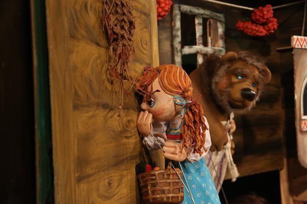 Спектакль «Машенька и Медведь» в Московском областном театре кукол  – события на сайте «Московские Сезоны»