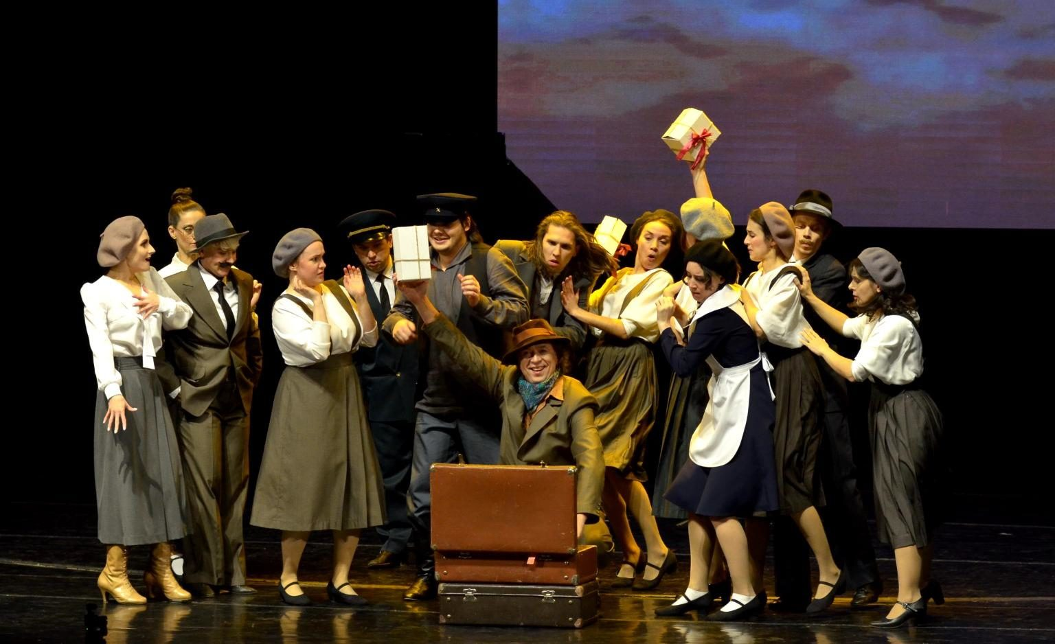 Спектакль «Безымянная звезда» в Театре Мимики и Жеста  – события на сайте «Московские Сезоны»