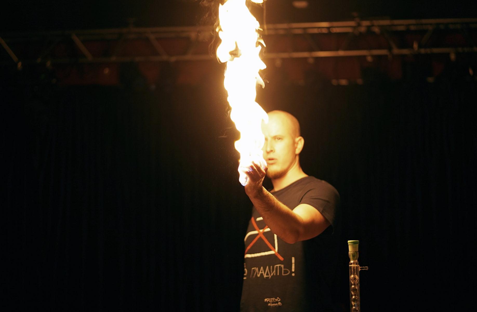 Шоу «Огонь, вода и громкие взрывы!» в Культурном центре «Вдохновение» – события на сайте «Московские Сезоны»