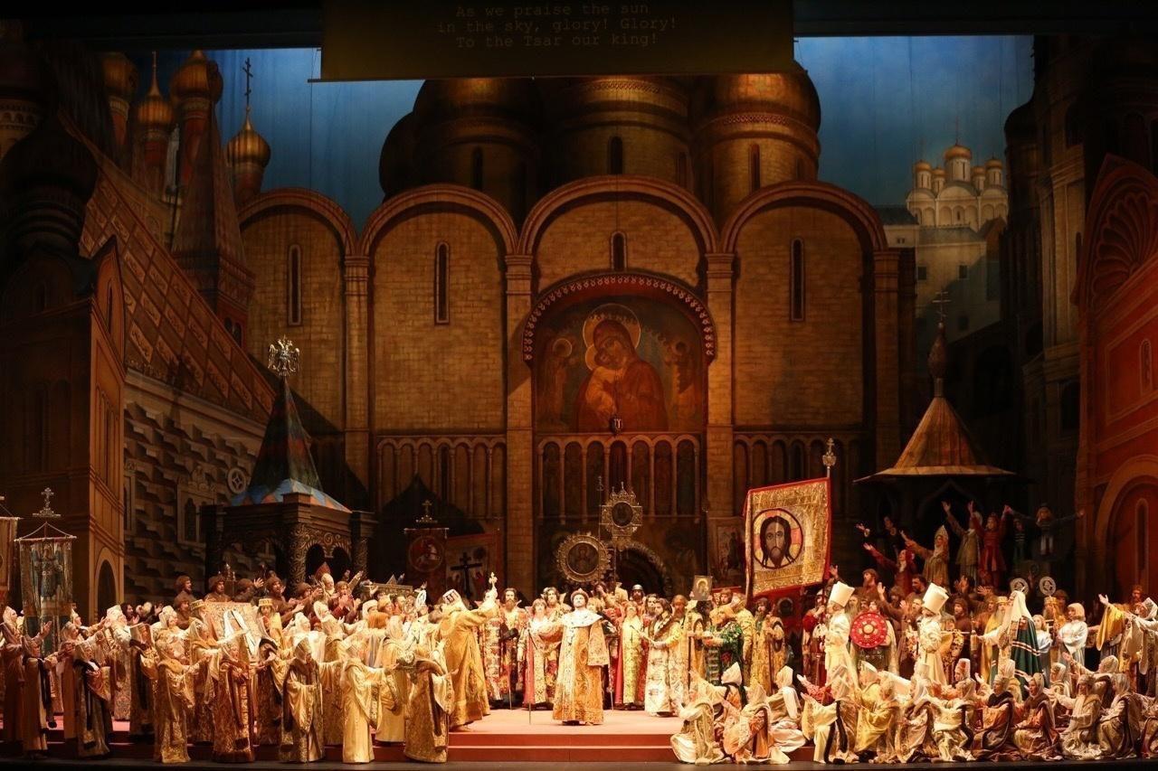 Опера «Борис Годунов» в Большом театре  – события на сайте «Московские Сезоны»