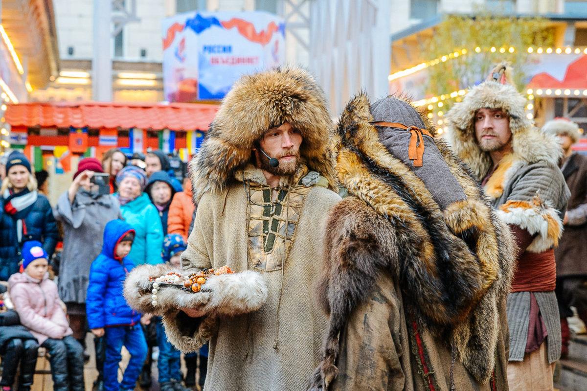 """""""俄罗斯民族统一日""""狂欢节"""
